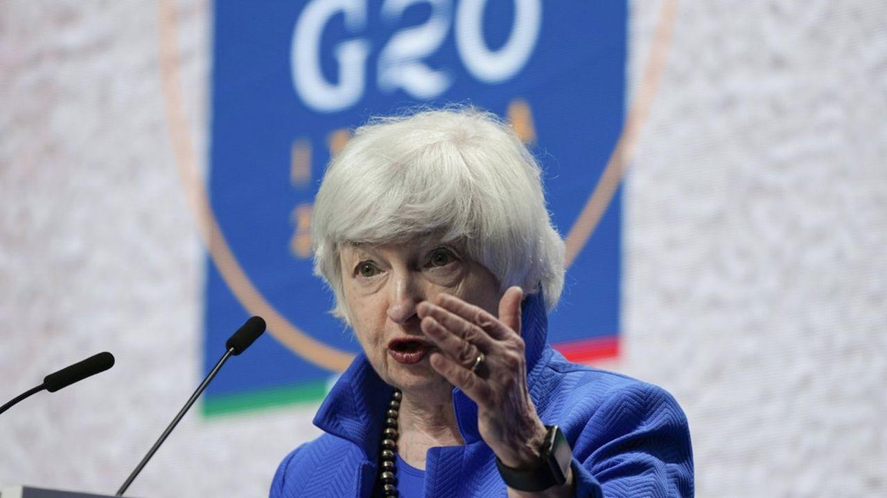 La secrétaire au Trésor américain, Janet Yellen, se montre confiante dans la ratification de la réforme fiscale de l'OCDE par le Congrès.