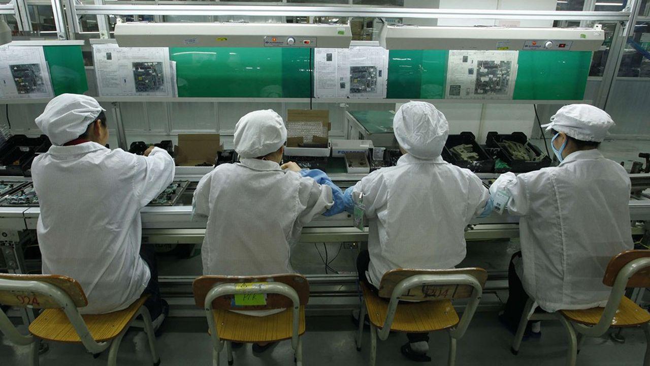 «Ce n'est pas le bon moment pour entrer chez Foxconn», admet un responsable de l'entreprise chinoise.
