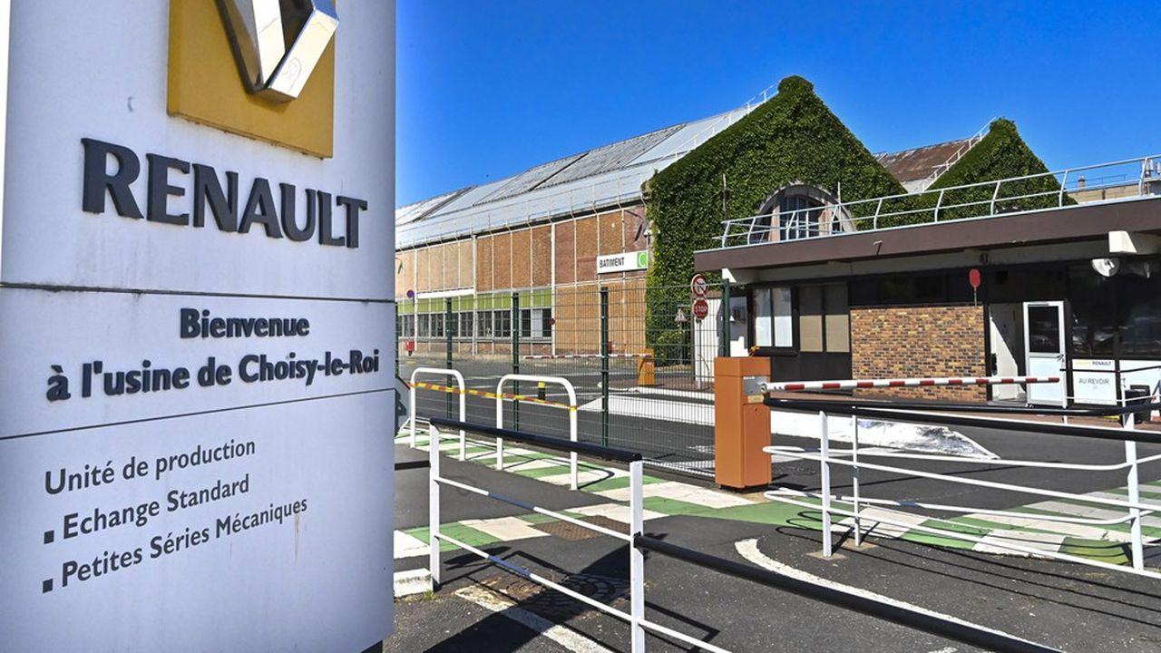 L'avenir de l'usine Renault de Choisy-le-Roi, dont les activités vont être transférées sur le site de Flins, fait l'objet d'une étude menée par la Chambre de commerce et de l'industrie du Val-de-Marne.