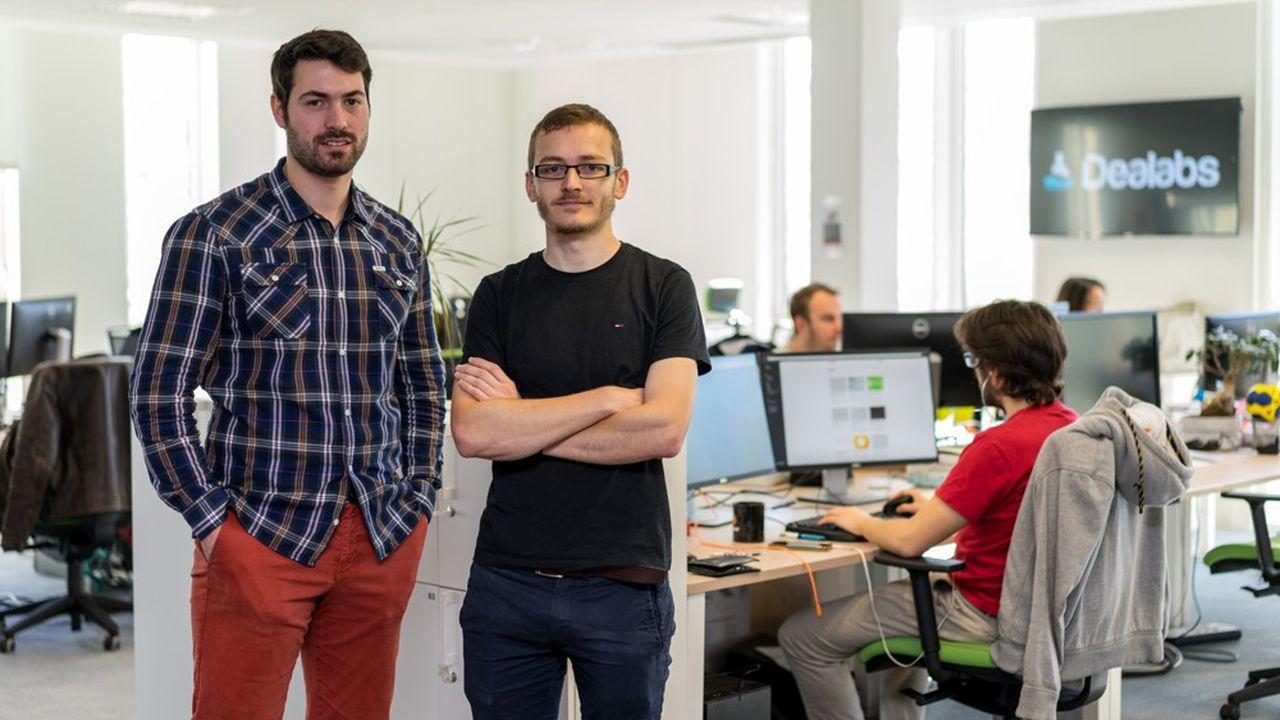 Hugues (à gauche) et Médéric de Buyer-Mimeure, les cofondateurs de Dealabs.