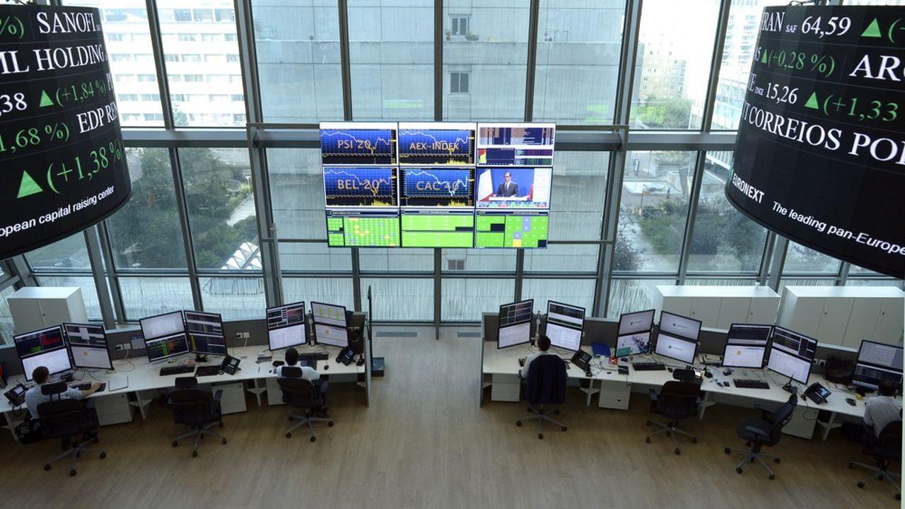 Après le trou d'air du mois de septembre, les Bourses mondiales repartent de l'avant