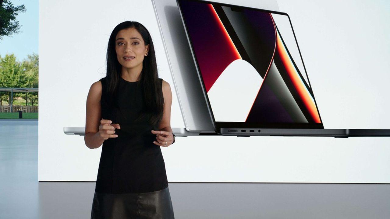 Apple dévoile de nouveaux MacBook Pro plus performants, avec des puces maisons