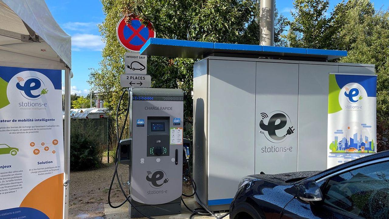Stations-e veut faire décoller la voiture électrique dans les zones périurbaines