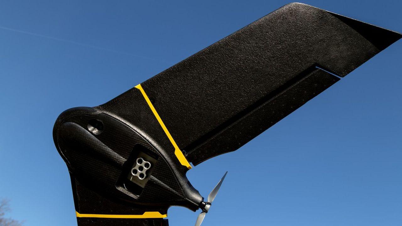 Parrot cède les drones de SenseFly pour 23 millions de dollars