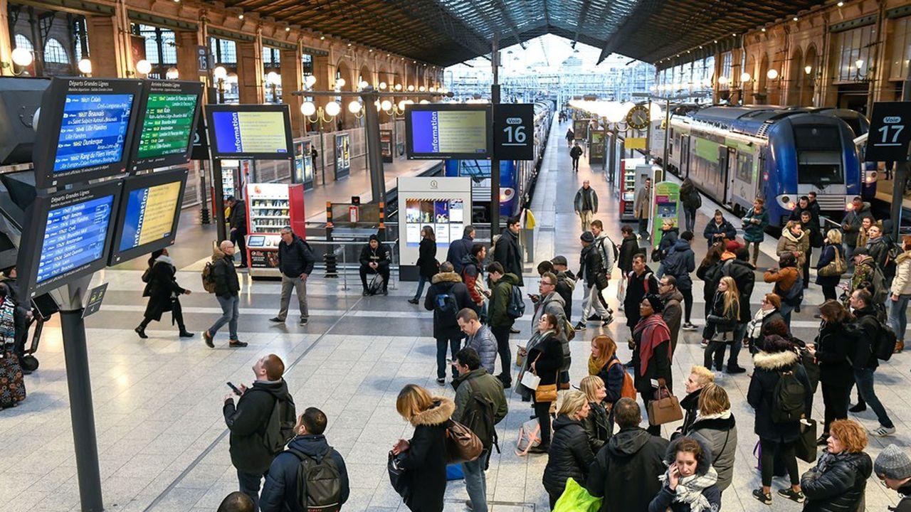 Grève SNCF : de nombreux trains annulés ce week-end