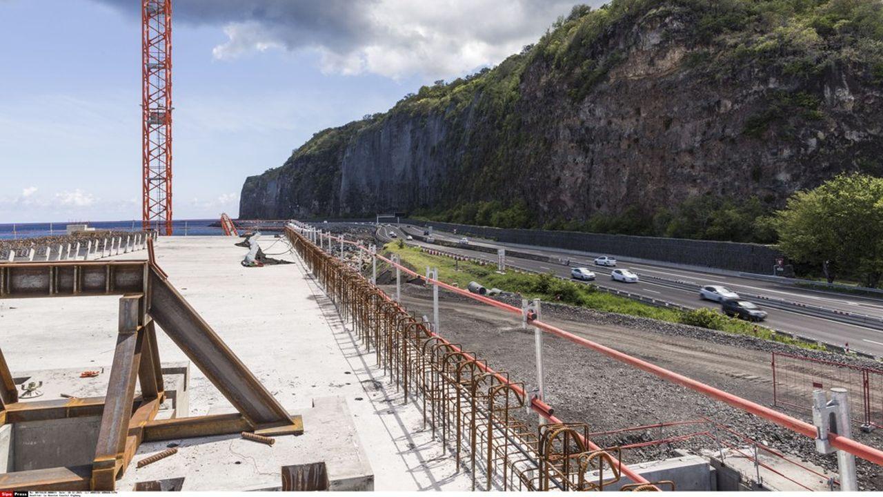 Encore 6 ou 7 ans pour terminer la Nouvelle Route du Littoral à La Réunion