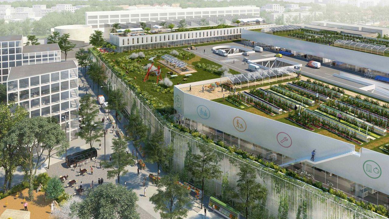 Top départ pour le chantier de l'hôtel logistique de la ZAC des Ardoines